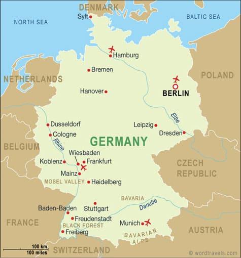 ข้อมูลทั่วไป ประเทศเยอรมัน
