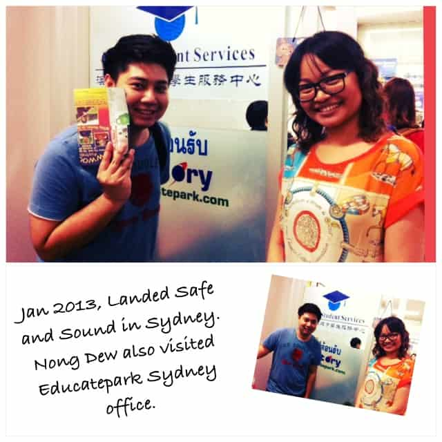 Nong Dew Visited Educatepark' Office in Sydney