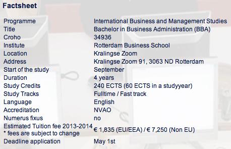 Bachelor of IBMS Programme