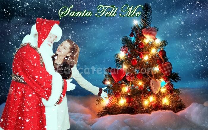 แปลเพลง Santa Tell Me- Ariana Grande