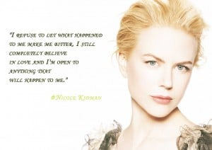 From Nicole Kidman