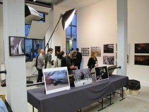 Exposition dans le studio de l'Ecole Speos
