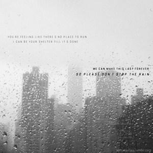แปลเพลง Please Don't Stop The Rain – James Morrison