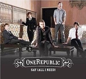 แปลเพลง Say (All I Need) - One Republic
