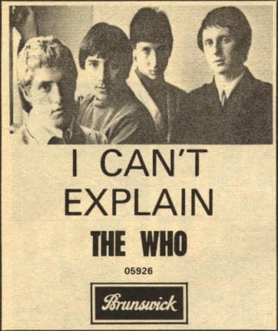 แปลเพลง I Can't Explain – The Who