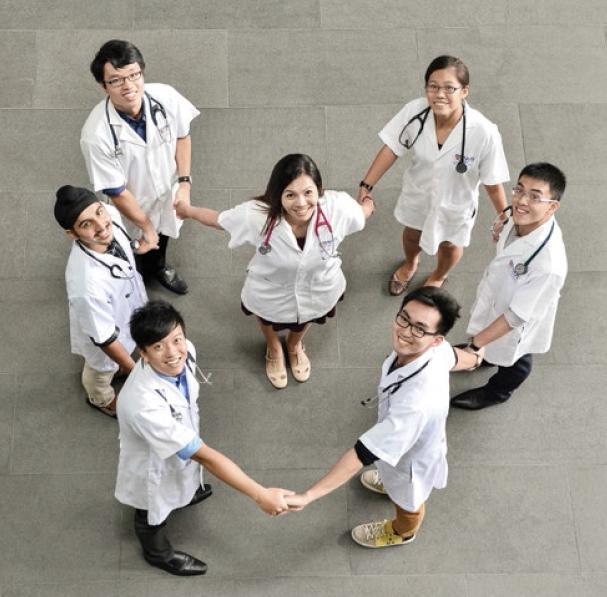 NUS Medicine heart