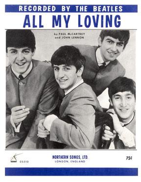 แปลเพลง All My Loving – The Beatles