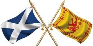 ความหมายของธงประจำชาติสกอตแลนด์