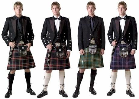 เครื่องแต่งกายของชาวสก็อตแลนด์