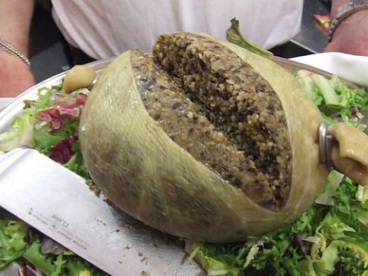 อาหารดั้งเดิมของสกอตแลนด์