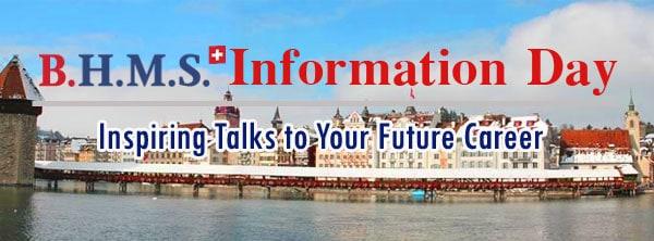 B.H.M.S. Information Day 19/12/2015 ร่วมพูดคุยกันถึงการเรียนต่อที่สวิตเซอร์แลนด์