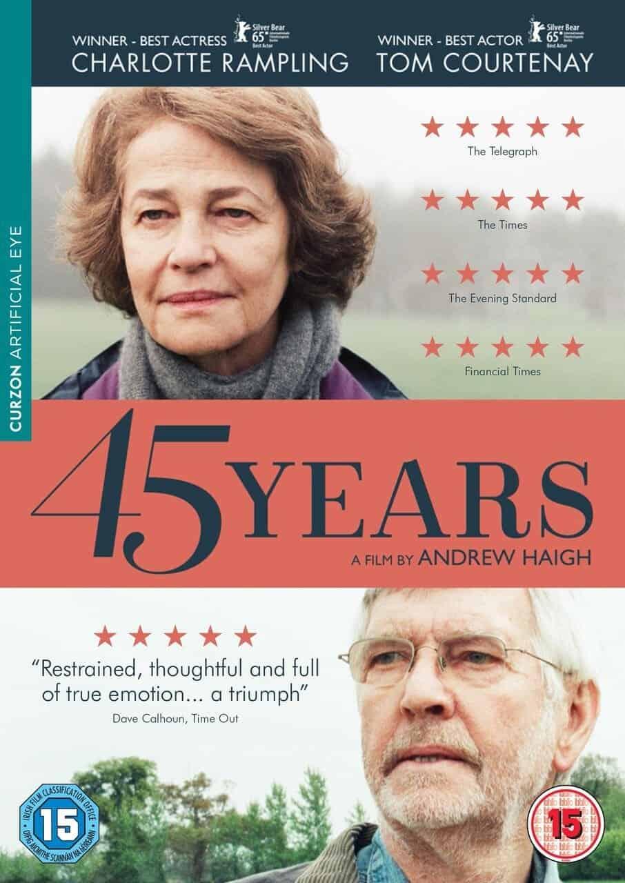 หนังแนะนำประจำวันวาเลนไทน์ – 45 Years เจ็บ รัก เก่า