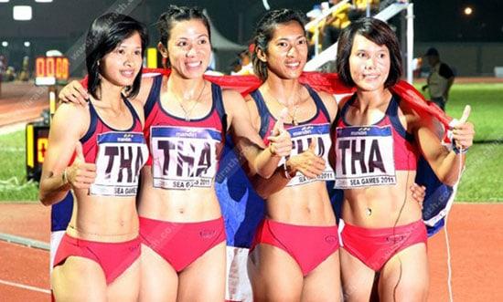 นักวิ่ง ทีมชาติไทย