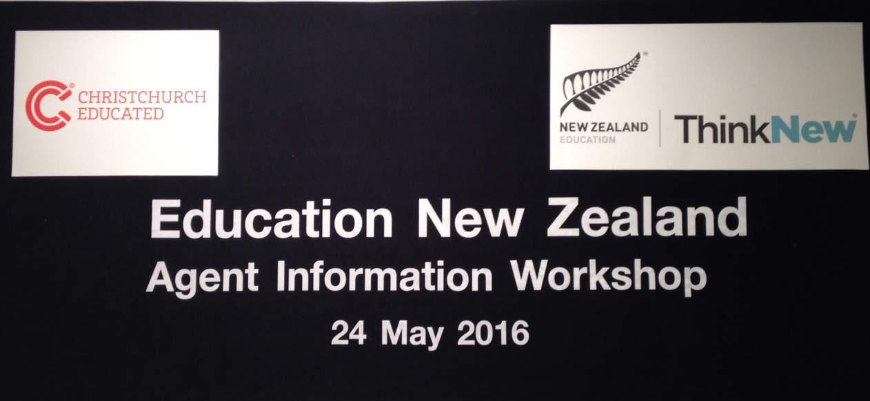 Education New Zealand Agent Information Workshop
