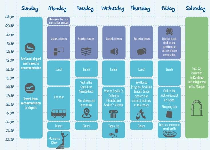 enforex schedule