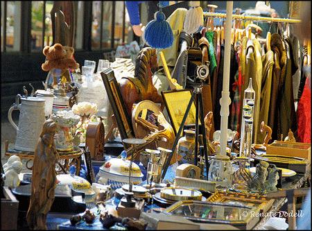 Shopping สิงคโปร์ : Flea markets