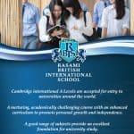ทุนการศึกษาระดับ A-Level ที่ RBIS