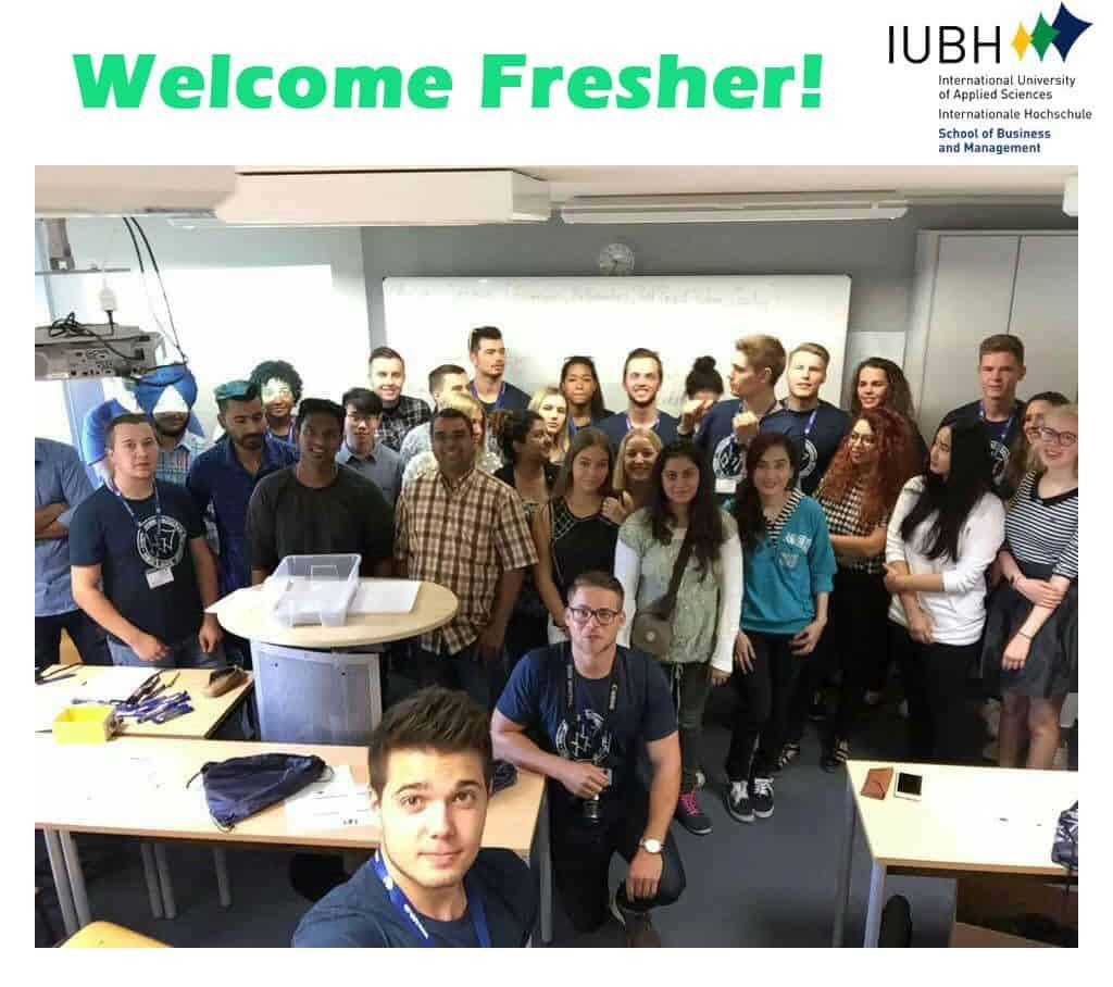 Welcome-Fresher_IUBH