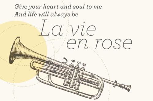 แปลเพลง La Vie En Rose ความหมายเพลง