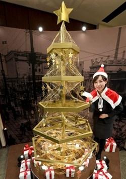 ญี่ปุ่น เปิดตัวต้นคริสต์มาส 200 ล้านเยน