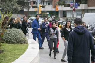 เดินเยี่ยมชมแคมปัสในเมืองบาร์เซโลนา