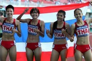 กรีฑาทีมชาติไทยหญิง