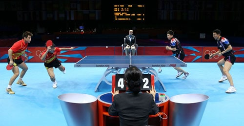 การแข่งขันเทเบิลเทนนิสคู่