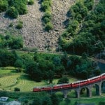 Bernina Express เส้นทางการเดินรถไฟที่สวยที่สุดในยุโรป