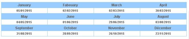 ilf-schedule