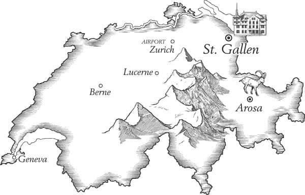 เรียนมัธยมที่สวิส เมือง St. Gallen