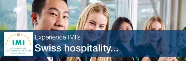 เรียนการโรงแรมที่สวิส กับ IMI