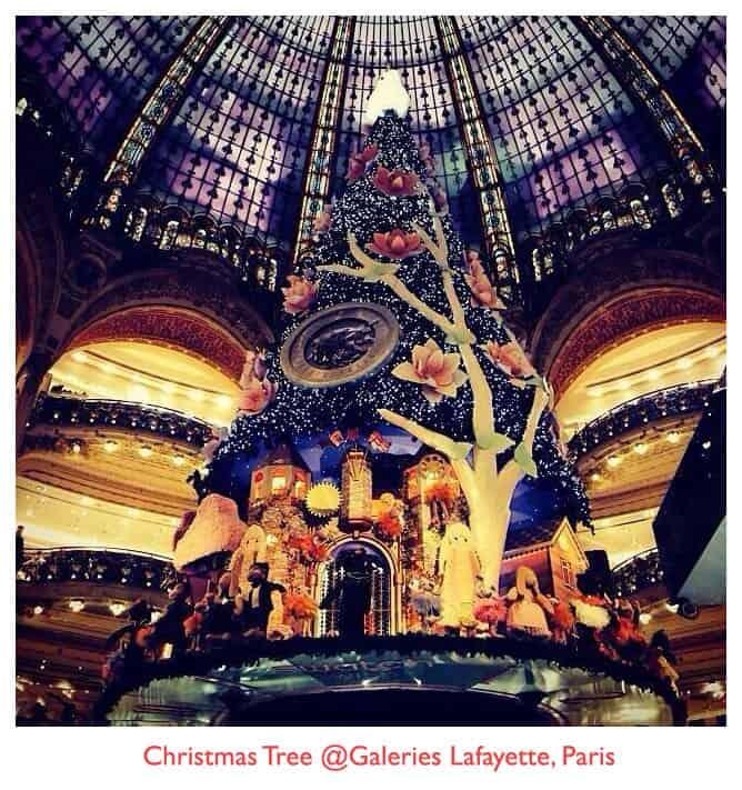 ต้นคริสต์มาส จาก Galeries Lafayette