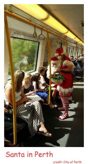 Santa Claus in Perth