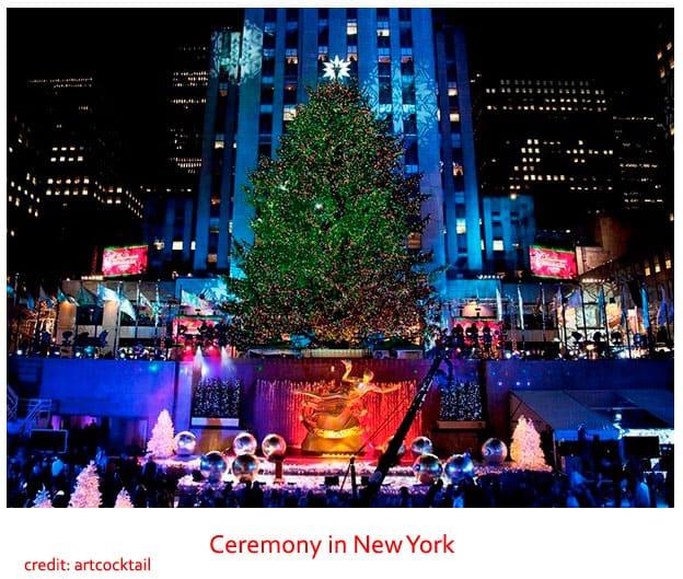 Christmas in New York, USA