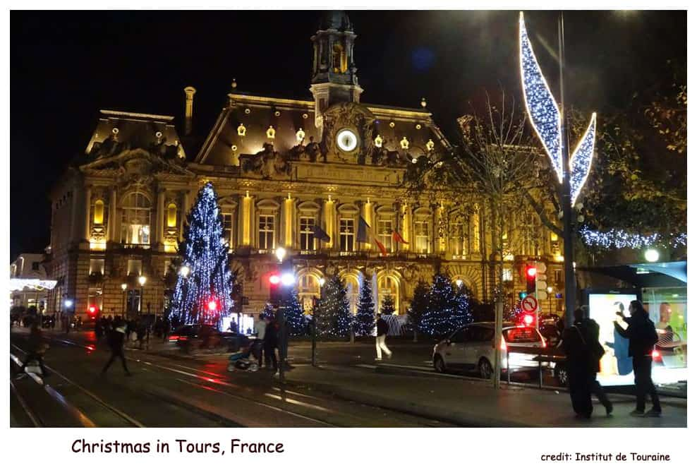 Christmas in Tours, France