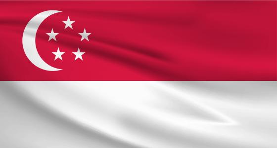 ข้อมูลประเทศสิงคโปร์ - Flag