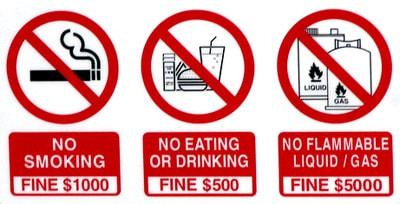 ข้อควรระวัง เมื่ออยู่ในสิงคโปร์