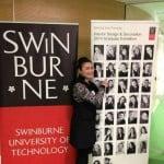 ยินดีกับน้องตาล จบการศึกษาจากที่ Swinburne University of Technology เมืองเมลเบิร์น ประเทศออสเตรเลีย