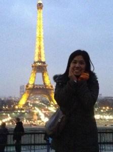 น้องโม เรียนภาษาฝรั่งเศสที่ปารีส