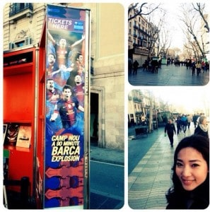 น้องปุ๊ จาก European University, Barcelona Campus