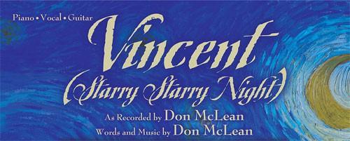 แปลเพลง  Starry, starry night - DON MCLEAN VINCENT