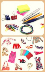 Stationery & clothes