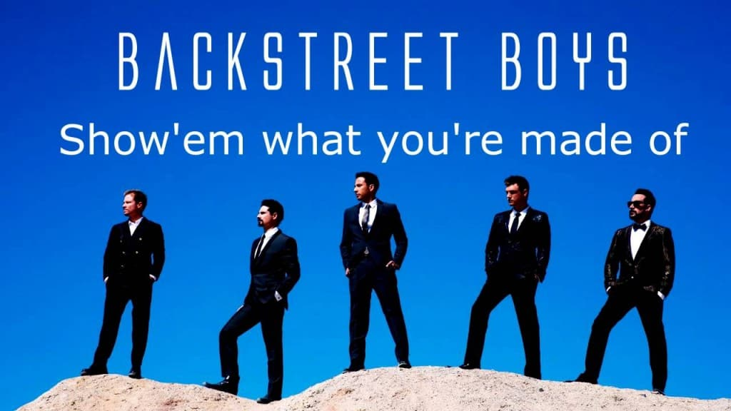 แปลเพลง Show 'Em What You're Made Of - Backstreet Boys