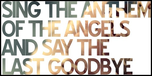 แปลเพลง Anthem Of The Angels - Breaking Benjamin