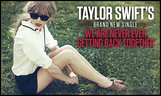 แปลเพลง We are never ever getting back together - Taylor Swift