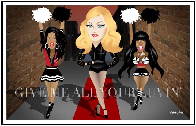 แปลเพลง Give me all your luvin - Madonna ft. nicki minaj and m.i.a.