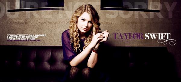 แปลเพลง You're Not Sorry - Taylor Swift