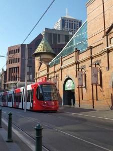 Tram in Sydney