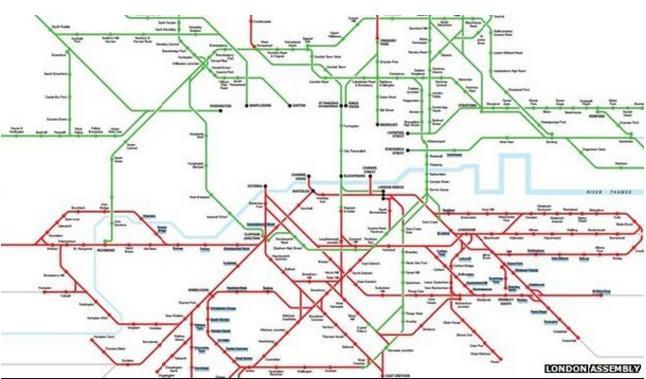 เรียนต่ออังกฤษ เด็กๆ ใน ลอนดอน เผชิญกับการแบ่งแยกระบบการขนส่งทางเหนือ-ใต้