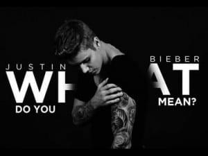 แปลเพลง What Do You Mean? - Justin Bieber